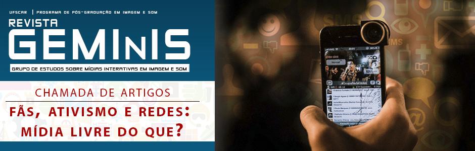Chama da de Artigos - Revista GEMInIS | Ano 7 - n. 01